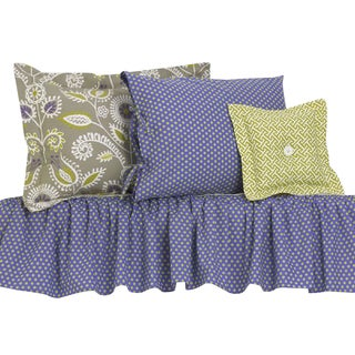 Periwinkle Cotton Bedding Set