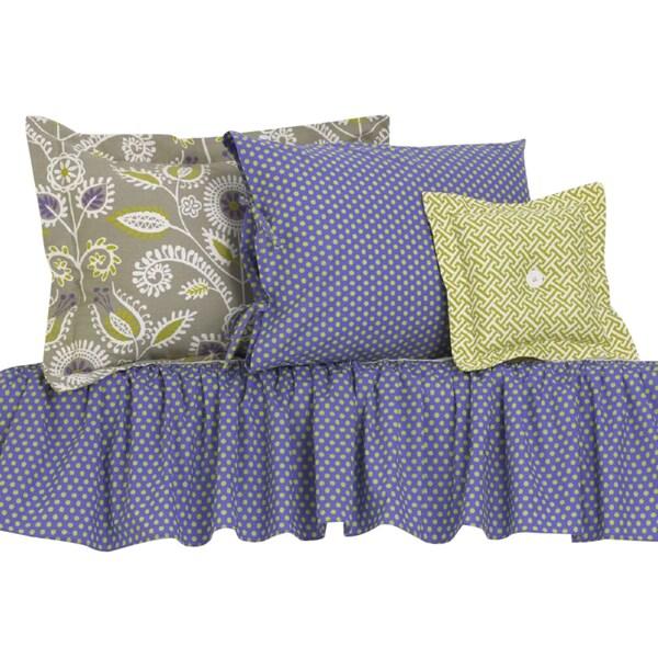 Periwinkle Cotton Bedding Set