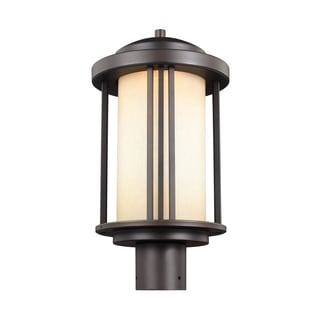 Sea Gull Crowell LED Light Antique Bronze Outdoor Fixture