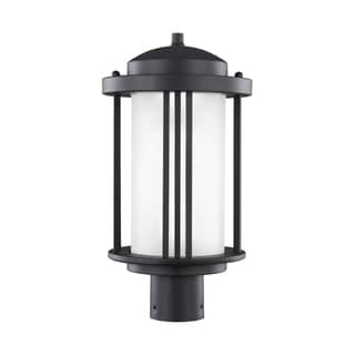 Sea Gull Crowell LED Light Black Outdoor Fixture