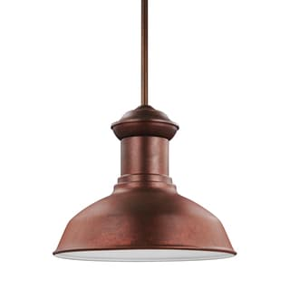 Sea Gull Fredricksburg LED Light Weathered Copper Outdoor Fixture