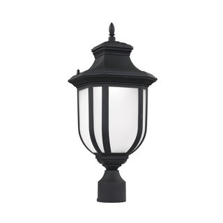Sea Gull Childress LED Light Black Outdoor Fixture