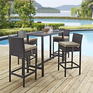 Gather 5 Piece Outdoor Patio Pub Set