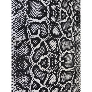 Shop Arthouse Innovations Black And White Snake Skin