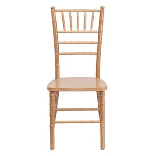 Offex Hercules Series Reinforced Natural Wood Chiavari Chair