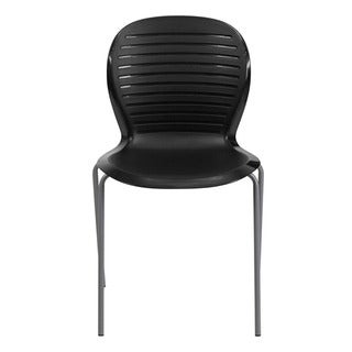 Offex Hercules Series 551-pound Capacity Ergonomic Black Stack Chair