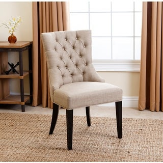 Abbyson Tivoli Tufted Upholstered Dining Chair