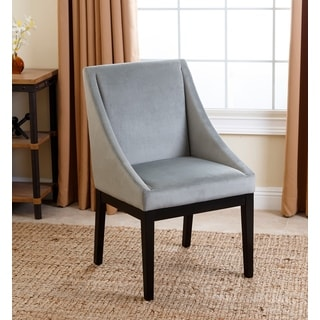 ABBYSON LIVING Hayes Teal Curved Dining Chair