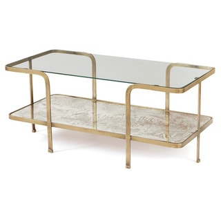 Mirrored Glass Coffee Table