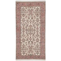 Ecarpetgallery Hand-knotted Sarough Beige Wool Rug (3'3 x 6'6)