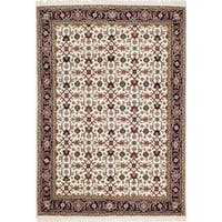 Ecarpetgallery Hand-knotted Royal Mahal Beige Wool Rug (5'6 x 8')