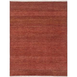 Ecarpetgallery Hand-knotted Peshawar Ziegler Brown Wool Rug (4'4 x 5'9)