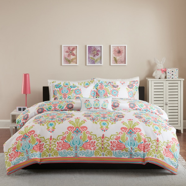 sets coral runclon me beach comforter
