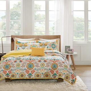 Intelligent Design Mona 5-piece Coverlet Set