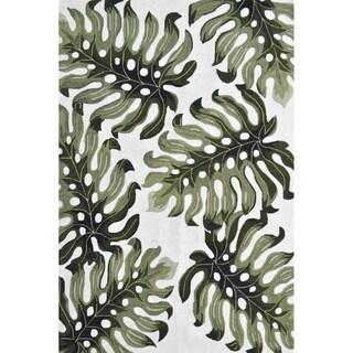 Hand-Hooked Sarasota /Polyester Rug (5'X8')