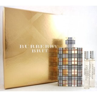 Burberry Brit Women's 3-piece Gift Set