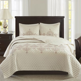 Madison Park Signature Jefferson Coral Coverlet Set