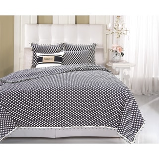 Greenland Home Fashions  Pom Pom Chic 3-piece Quilt Set