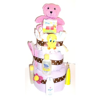 Its a Girl! Diaper Cake