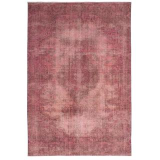 Ecarpetgallery Hand-knotted Persian Vogue Pink Wool Rug (8'4 x 12'2)