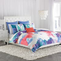 Silver Orchid Crawford Painterly 3-piece Comforter Set