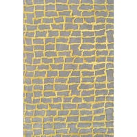 Hand-Tufted Le Mans /Wool Rug (5'X8') - 5' x 8'