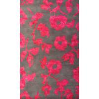 Hand-Tufted Villa Rosa Chartreuse /Wool Rug - 5' x 8'