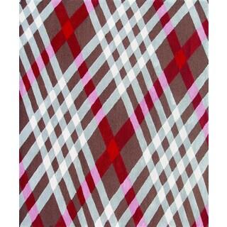Hand-Tufted Brit Plaid /Acrylic Rug (5'X8')