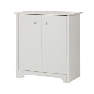 South Shore Vito Small White 2-Door Storage Cabinet (2 options available)