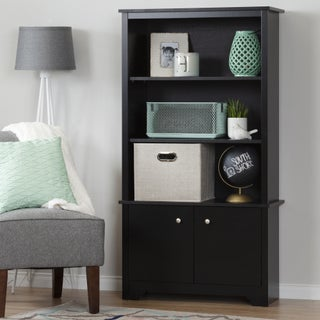 South Shore Vito 3-Shelf Bookcase with Doors (3 options available)