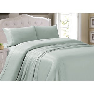 Classic Silky Tencel Blend 4-piece Sheet Set