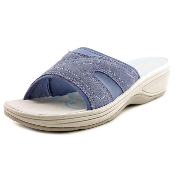 Shop Easy Spirit Women S Haylea Regular Suede Sandals
