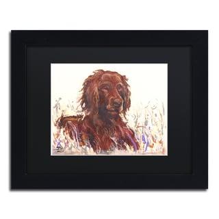 Lowell S.V. Devin 'Field Marshall Reginal Setter' Matted Framed Art