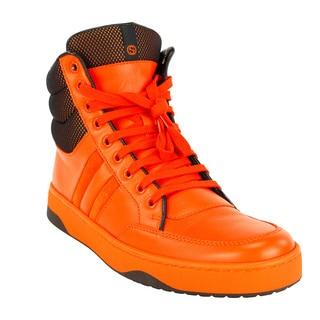 Gucci Orange Women's Fashion Sneakers