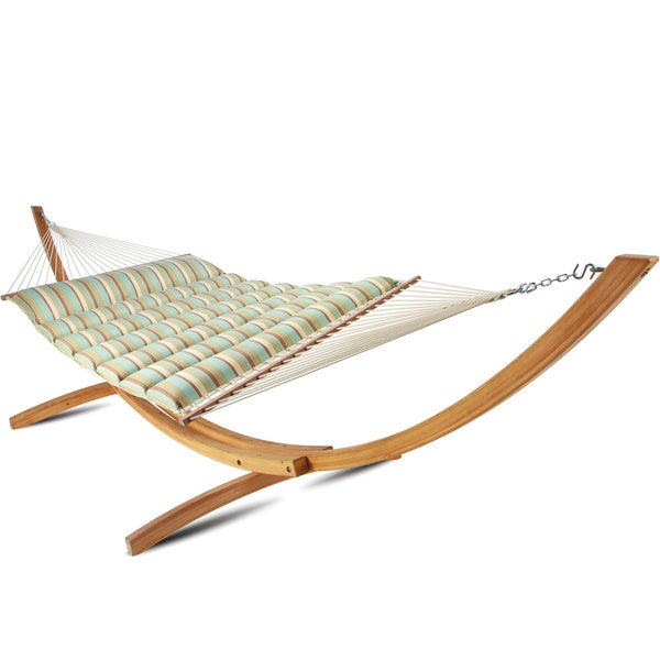 hatteras large pillowtop hammock hatteras large pillowtop hammock   free shipping today   overstock      rh   overstock