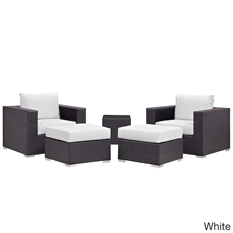 Gather 5 Piece Outdoor Patio Sectional Set