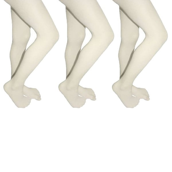 fc2fa03d2 Butterfly Girls Microfiber School Tights Uniform Hosiery Footed Stockings  (3-pack)