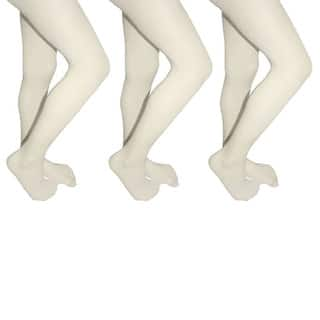 Butterfly Girls Microfiber School Tights Uniform Hosiery Footed Stockings (3-pack)|https://ak1.ostkcdn.com/images/products/11589735/P18529718.jpg?impolicy=medium