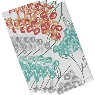 19-inch Hydrangeas Floral Print Napkin