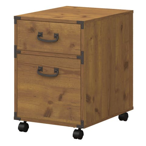 Kathy Ireland Home By Bush Furniture Ironworks Mobile File Cabinet