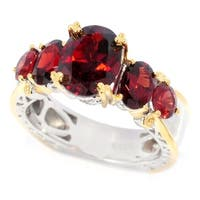 Michael Valitutti Idaho Garnet Ring