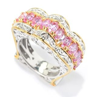 Michael Valitutti Pink Sapphire Ring