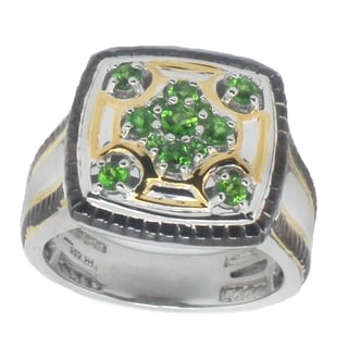 Michael Valitutti Men's Chrome Diopside Ring