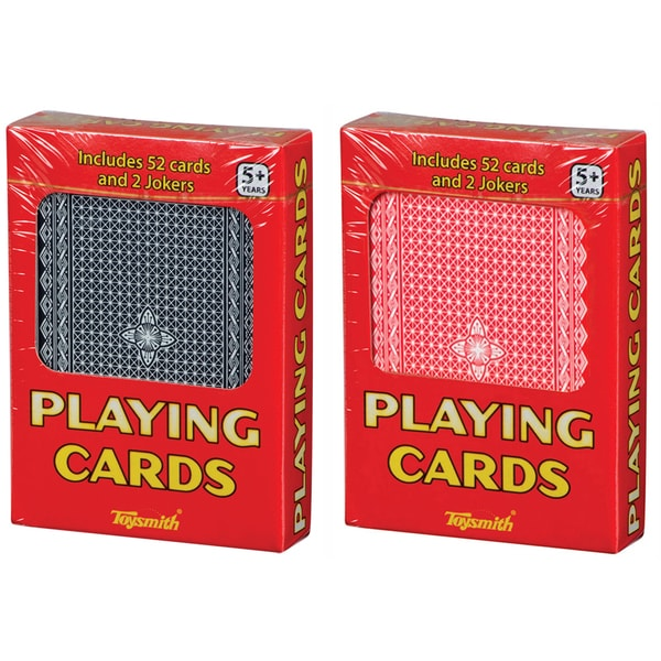 Toysmith 4817 Playing Cards Assorted Colors