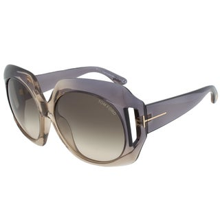 Tom Ford FT0385 20B Ivana Oval Sunglasses