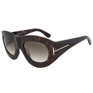 Tom Ford FT0403 56B Mila Square Sunglasses