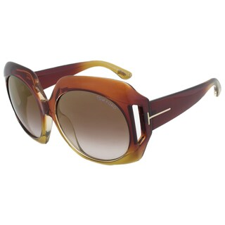 Tom Ford FT0385 50F Ivana Oval Sunglasses
