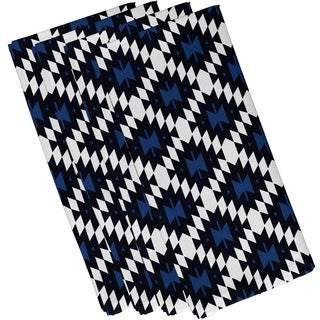 19-inch x 19-inch Jodhpur Kilim Geometric Print Napkin