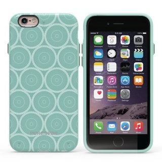 PureGear Slim Shell Series Carry Case for Apple iPhone 6/6s Plus MINT CIRCLES