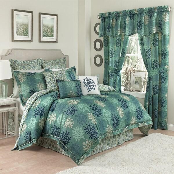 Marine Life 4-piece Cotton Reversible Comforter Set
